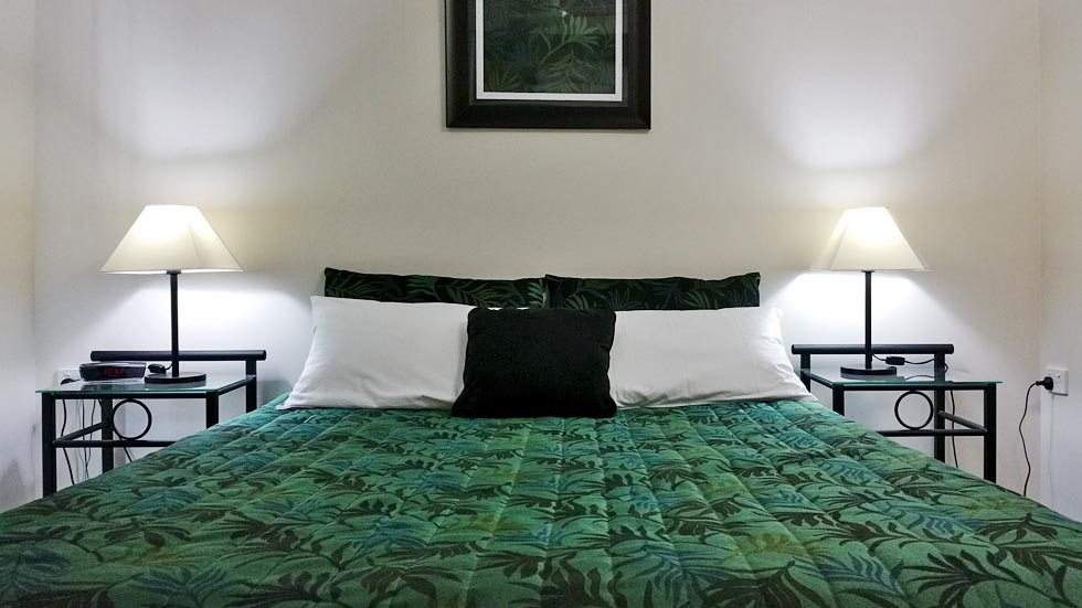 At Port Denison Motor Inn, we offer 46 comfortable rooms at affordable rates - motel accommodation Bowen